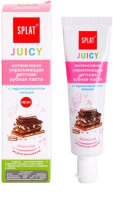 Splat Juicy Chocolate pasta do bardzo wrażliwych zębów oraz dla dzieci 1