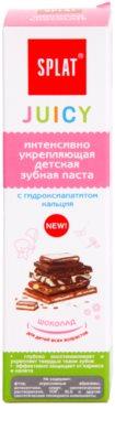 Splat Juicy Chocolate pasta de dinti pentru copii si adulti pentru dinti foarte sensibili 2