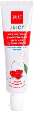 Splat Juicy Cherry Dentífrico para crianças e adultos com dentes muito sensíveis