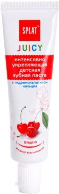 Splat Juicy Cherry pasta de dinti pentru copii si adulti pentru dinti foarte sensibili