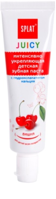 Splat Juicy Cherry Zahnpasta für Kinder und für sehr empfindliche Zähne bei Erwachsenen