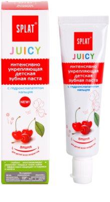 Splat Juicy Cherry zobna pasta za otroke in zelo občutljive zobe odraslih 1