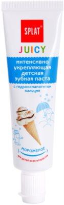 Splat Juicy Ice-Cream Dentífrico para crianças e adultos com dentes muito sensíveis