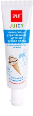 Splat Juicy Ice-Cream Zahnpasta für Kinder und für sehr empfindliche Zähne bei Erwachsenen