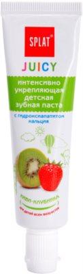 Splat Juicy Kiwi-Strawberry Zahnpasta für Kinder und für sehr empfindliche Zähne bei Erwachsenen
