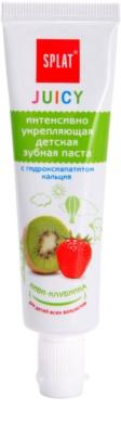 Splat Juicy Kiwi-Strawberry zubní pasta pro děti a velmi citlivé zuby dospělých