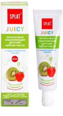 Splat Juicy Kiwi-Strawberry Zahnpasta für Kinder und für sehr empfindliche Zähne bei Erwachsenen 1