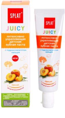 Splat Juicy Peach zubní pasta pro děti a velmi citlivé zuby dospělých 1