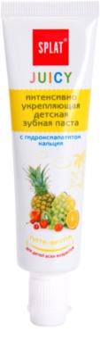 Splat Juicy Tutti-Frutti Zahnpasta für Kinder und für sehr empfindliche Zähne bei Erwachsenen