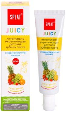 Splat Juicy Tutti-Frutti zobna pasta za otroke in zelo občutljive zobe odraslih 1
