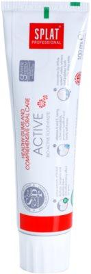 Splat Professional Active dentífrico bioativo para gengivas saudáveis e cuidados dentários completos