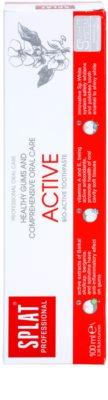 Splat Professional Active bioaktivna zobna pasta za zdrave dlesni in kompleksno nego zob 2