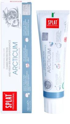 Splat Professional Arcticum pasta de dinti bio-activa pentru protectia impotriva cariilor si al respiratiei proaspete 1