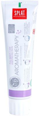 Splat Professional Aromatherapy bioaktivna zobna pasta za popolno zaščito ponoči