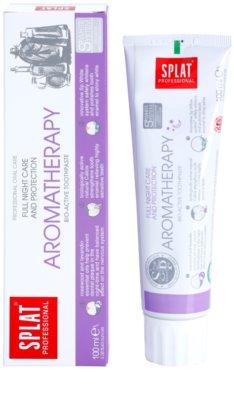 Splat Professional Aromatherapy pasta de dinti bio-activa pentru ingrijire de noapte si protectie 1