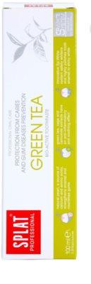 Splat Professional Green Tea dentífrico bioativo proteção contra as cáries dentárias e prevenção das doenças das gengivas 2