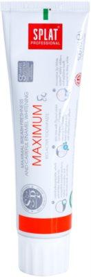 Splat Professional Maximum bioaktivna zobna pasta za maksimalno svež dah in nežno beljenje zob