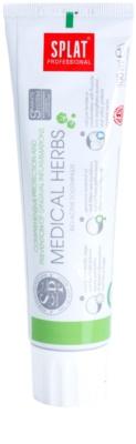 Splat Professional Medical Herbs pasta dentífrica bioactiva para una protección integral y prevención de las encías