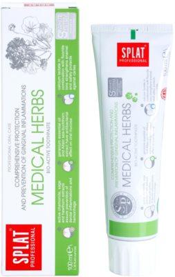 Splat Professional Medical Herbs pasta de dinti bio-activa pentru protectie completa si prevenirea inflamatiei gingivale 1