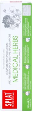 Splat Professional Medical Herbs pasta de dinti bio-activa pentru protectie completa si prevenirea inflamatiei gingivale 2