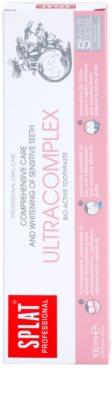 Splat Professional Ultracomplex біоактивна зубна паста для комплексного догляду та відбілювання чутливих зубів 2