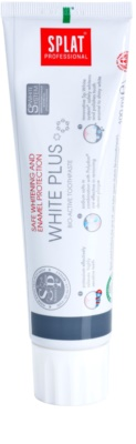 Splat Professional White Plus bioaktív fogpaszta a fogzománc gyengéd fehérítésére és védelmére
