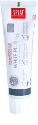 Splat Professional White Plus pasta dentífrica bioactiva para proteger el esmalte dental y blanquear los dientes de una manera suave