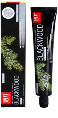 Splat Special Blackwood dentífrico branqueador para homens 1