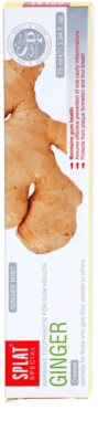 Splat Special Ginger dentífrico de aquecimento para umas gengivas saudáveis 2