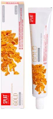 Splat Special Gold pasta de dientes blanqueadora 1