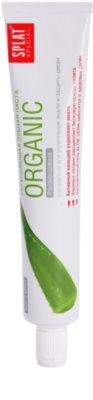 Splat Special Organic pasta de dinti cu efect intaritor