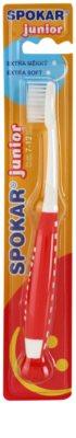 Spokar Junior escova de dentes para crianças extra suave