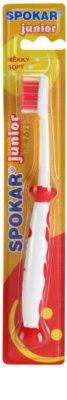 Spokar Junior cepillo de dientes para niños  suave
