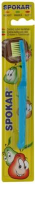 Spokar Kids Zahnbürste für Kinder weich