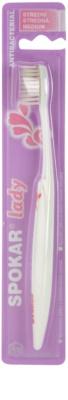 Spokar Lady antibakterielle Zahnbürste Medium