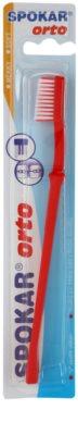 Spokar Orto escova de dentes para usuários de aparelho fixo soft