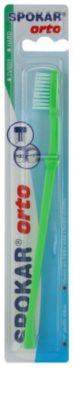Spokar Orto zubní kartáček pro uživatele fixních rovnátek hard