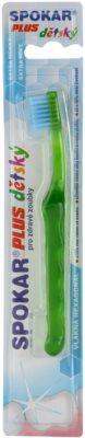 Spokar Plus periuta de dinti pentru copii foarte moale