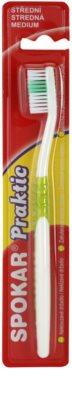 Spokar Praktic zubní kartáček medium