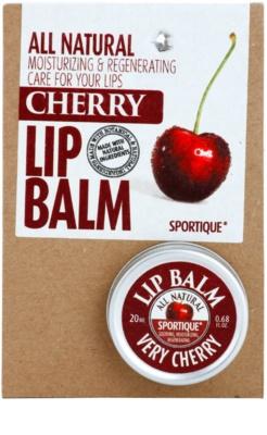 Sportique Wellness Cherry balsam do ust