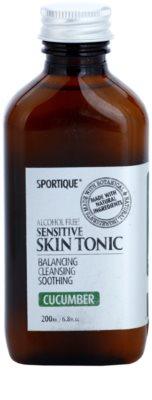 Sportique Wellness Cucumber tónico facial hidratante