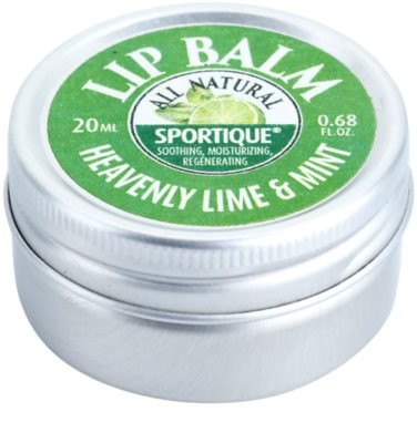 Sportique Wellness Heavenly Lime & Mint bálsamo labial 2