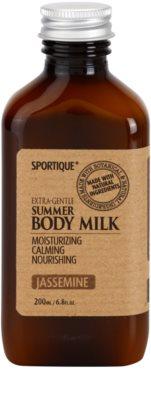 Sportique Wellness Jasmin leite corporal hidratante