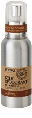 Sportique Wellness Jasmin natürliches Deodorant im Spray