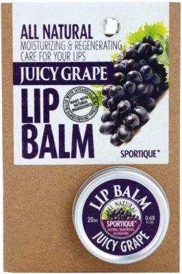 Sportique Wellness Juicy Grape bálsamo de lábios