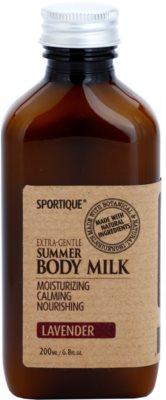 Sportique Wellness Lavender hydratačné telové mlieko
