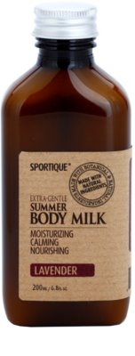 Sportique Wellness Lavender leite corporal hidratante