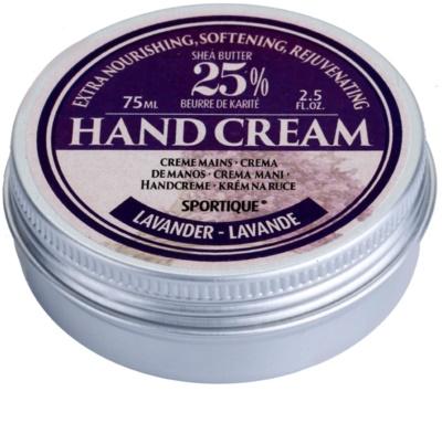 Sportique Wellness Lavender nährende Handcreme