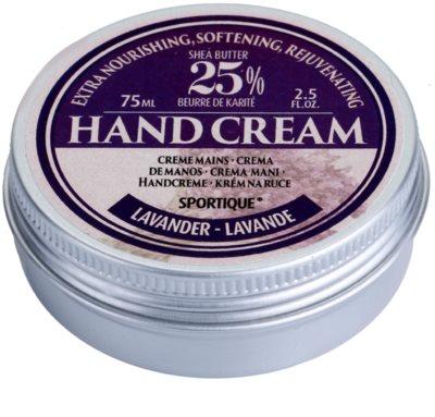 Sportique Wellness Lavender поживний крем для рук