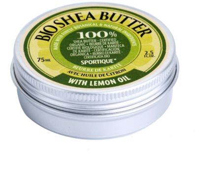 Sportique Wellness Lemon Oil czyste masło shea